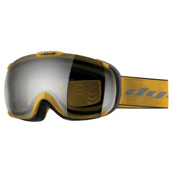 Dye Snow Goggle T1 DTS Yellow / Smoke Silver - Skibrille / Snowboardbrille