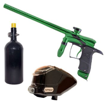 Dangerous Power G5 Paintball Package - green/black