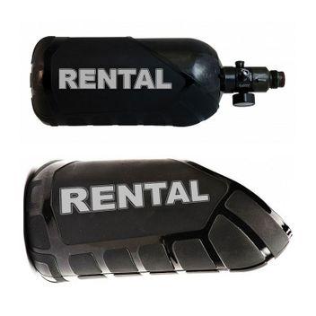 Exalt Rental Tank Cover 48ci - schwarz