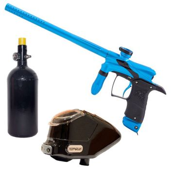 Dangerous Power G5 Paintball Package - turquoise/black