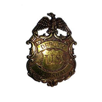Abzeichen Sheriffstern Deputy Marshal