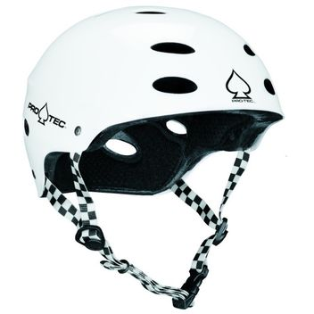 Pro-Tec Ace Bike SXP - Bike Skate Helm - gloss weiß Junior 51-52cm