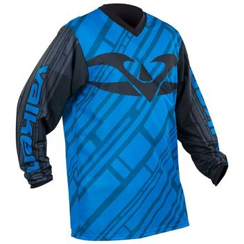 Valken Fate 2 Paintball Jersey - black/blue