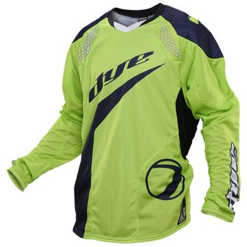 Dye C14 Paintball Jersey Ace Lime Navy