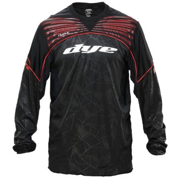 Dye Ultralite Paintball Jersey 2014 - Black/Red