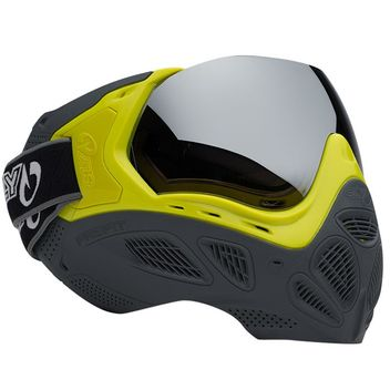 Valken Profit Paintball Maske LE - Highlighter/Grey
