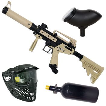 Tippmann Cronus Tactical HP Paintball Set - tan
