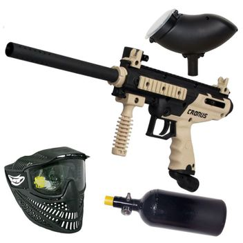 Tippmann Cronus Basic tan/black HP Set