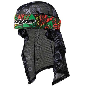 Dye Paintball Head Eskimo Wrap Rasta