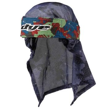Dye Head Wrap Global blue/red/green