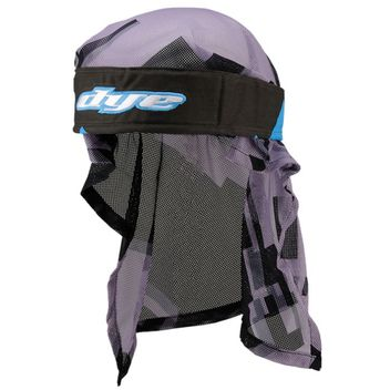 Dye Paintball Head Wrap Airstrike cyan/black