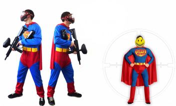 "Paintball Costume Super Hero ""Super Zero"""