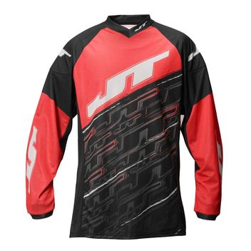 JT Tournament Paintball Jersey - red