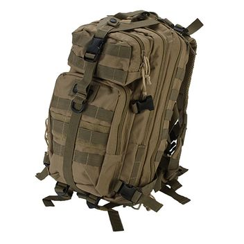 GXG Mini Tactical Backpacker / Rucksack - Coyote Tan