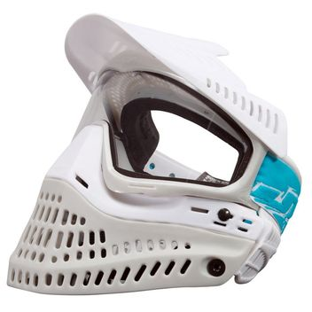 Paintball Maske JT Proflex Spectra Thermal LE white/grey + extra Smoke Glas