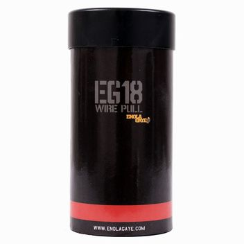 Enola Gaye EG 18 Assault Smoke Grenade - red