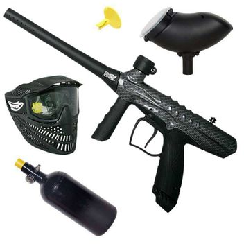 Tippmann Gryphon HP Paintball Set - FX Carbon