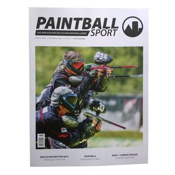 Paintball Sport - The Magazine of the German paintball scene - 01/2015