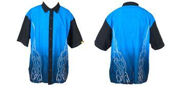 JT Lounge Shirt blau