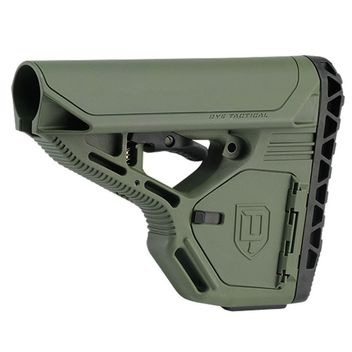 Dye DAM Stock with Storage - olive drab