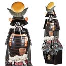 Samurai Warrior - Japanese Warlord Masamune - Samurai Suit of Armor Miniature