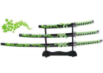 Samurai Schwerter Set Unokubi Zukuri