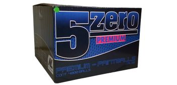 New Legion 5 Zero Paintballs cal.50 Premium - 4000 Stück