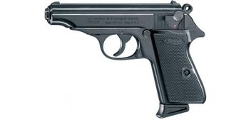 Walther PP cal. 9 mm P.A.K. - black