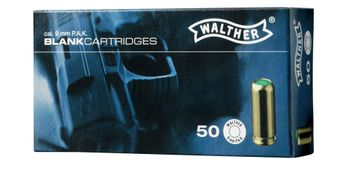 Walther Blank Cartridges cal. 9 mm P.A.K. - 50 shots