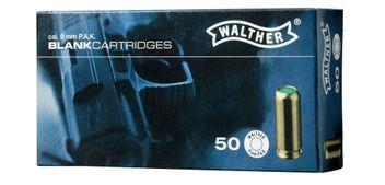 Walther Platzpatronen cal. 9 mm P.A.K. - 50 Schuss