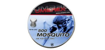 Umarex Mosquito Flathead Pellets 4.5 mm - 500 pieces