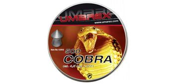 Umarex Cobra Pointed Pellets 4,5 mm - 500 pieces