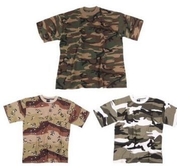 Camo Short Sleeve Shirt U.S.