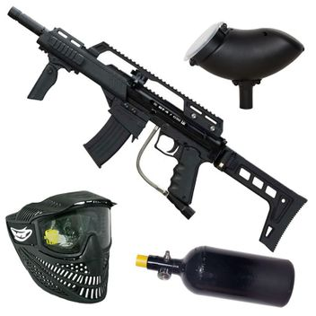 BT-4 Slice G36 HP Paintball Set