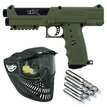 Tippmann TPX Oliv Paintball Set
