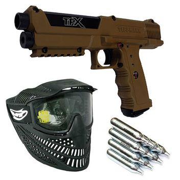 Tippmann TPX Braun Paintball Set