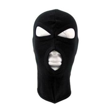 Balaclava - 3-Holes - black