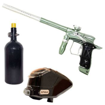 Dangerous Power G5 Spec-R Paintball Package - Celestial Green