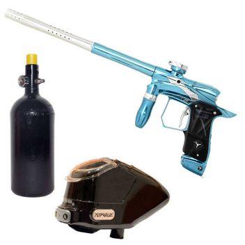 Dangerous Power G5 Spec-R Paintball Package - Nova Blue