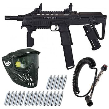 Tippmann TCR MagFed incl. Kit remotely with Bleeder, Single Mask & 20 pcs. CO2 capsules