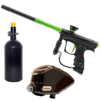 Proto Rize MaXXed Paintball Package - black/lime