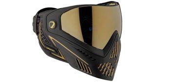 Paintball Maske DYE I5 Onyx Thermal gold 2.0