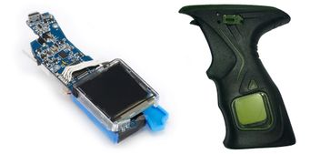Dye M2 MOSAir Circuit Board incl. Sticky Grip - black/olive