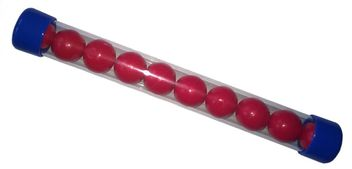 New Legion Nylon Balls cal.68 - 10 pcs. - red