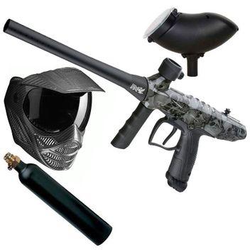 Limited Tippmann Gryphon FX Skull Paintball Set incl. Mask FX Carbon