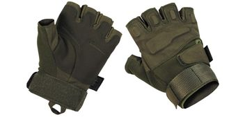 "Tactical Fingerless Gloves ""Protect"" - olive"