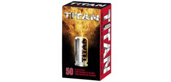 Umarex Perfecta Titan Blank Cartridges cal. 9 mm P.A.K. - 50 shots