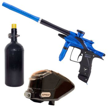 Dangerous Power Fusion Elite Paintball Package - blue/black