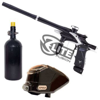 Dangerous Power Fusion Elite Paintball Package - black/silver