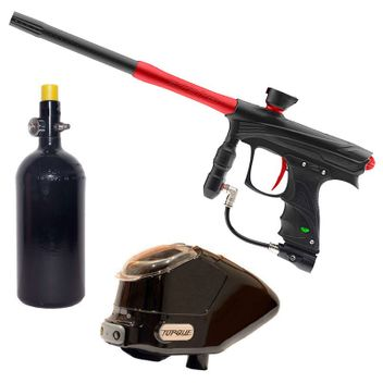 Proto Rize MaXXed Paintball Package - black/red